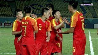 أهداف مباراة الإمارات 1-2 الصين   دورة الألعاب الآسيوية 2018     -