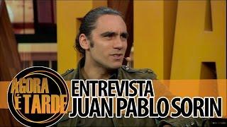 Entrevistado de hoje: Juan Pablo Sorin