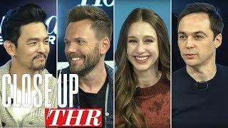 Jim Parsons, Taissa Farmiga, Joel McHale & John Cho Live Close Up With THR | Sundance 2018