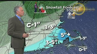 WBZ Morning Forecast For March 2