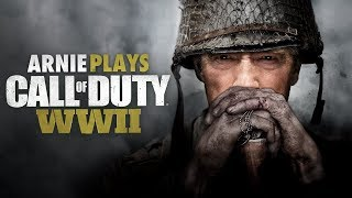Arnold Schwarzenegger Plays COD WW2! (Voice Troll)