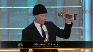 Michael C. Hall Golden Globe Win 2010 HQ