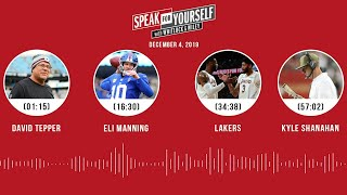 David Tepper, Eli Manning, Lakers, Kyle Shanahan   SPEAK FOR YOURSELF Audio Podcast