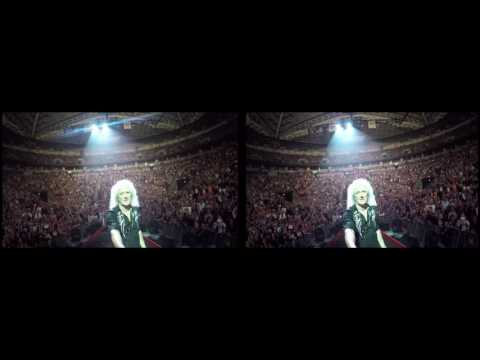 @DrBrianMay Selfie Stick Video |3D| Seattle, USA [July 1, 2017] Queen + Adam Lambert
