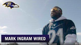 Mark Ingram Mic'd Up at the Pro Bowl Practice | Baltimore Ravens