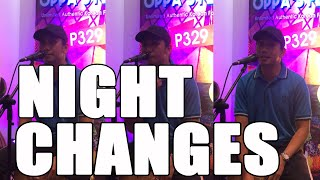 Night Changes cover   francis greg