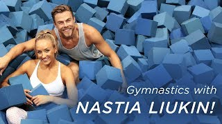 Derek Hough's Gymnastics with Nastia Liukin | Life in Motion