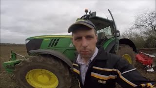 Ploughing With AutoSteer