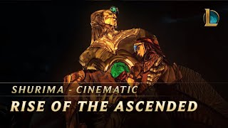 Shurima: Rise of the Ascended   Cinematic - League of Legends