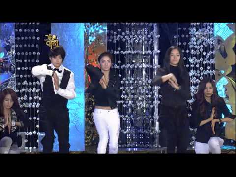 SBS Gayo Daejun 2009 Gender Switch (Female Set)