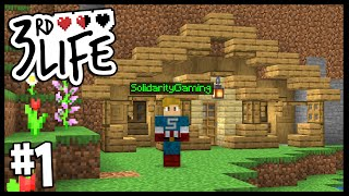 A DEADLY NEW ADVENTURE!!   Minecraft 3rd Life SMP   #1