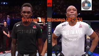 Silva Vs Adesanya #UFC 234 Highlights Melbourne 2019