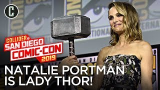 Natalie Portman to Wield Mjolnir in Thor 4