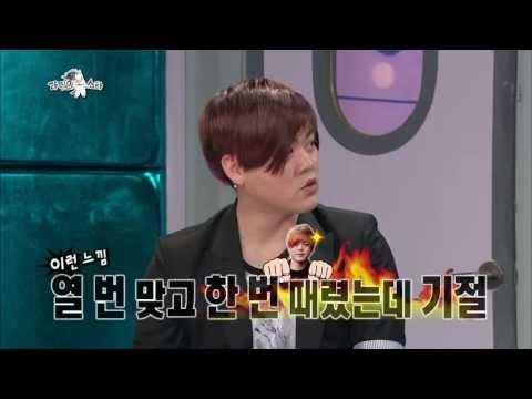 [HOT] 라디오스타 - 문희준, 장우혁과 춤 신경전, 전사의 후예 안무 짠 사람은? 20130529