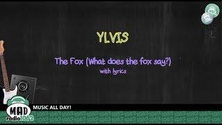 ylvis the fox what does the fox say lyrics video clip