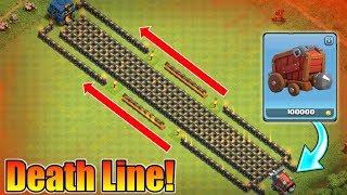 200 LEVEL 10 WALLS VS WALL WRECKER | INSANE DEATH LINE TROLL BASE | WHO WILL WIN?