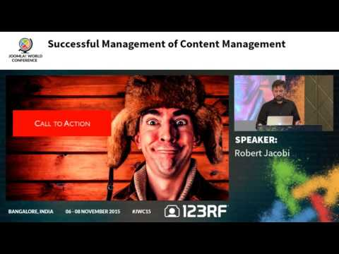 JWC15 - Successful Management of Content Management