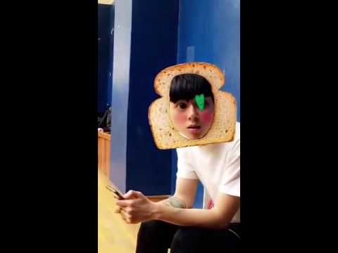 Breadman Kasper (posted by Taeyeon on snapchat)