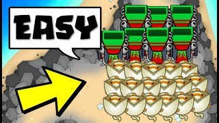 they RAGE QUIT to this AMAZING lategame strategy.... (Bloons TD Battles)