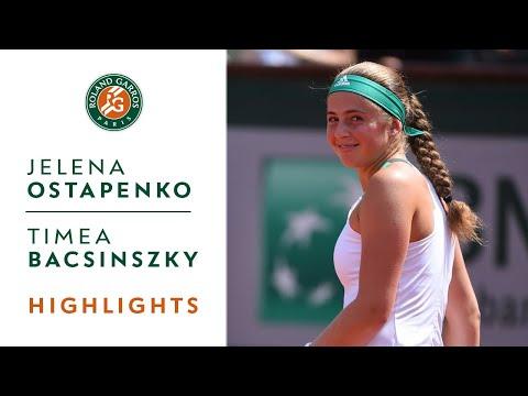 Jelena Ostapenko vs Timea Bacsinszky
