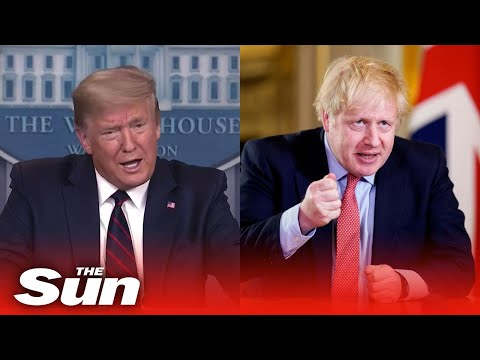 Donald Trump says the first thing Boris Johnson said to me is 'we need ventilators'