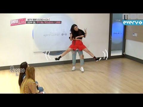 (Showtime MAMAMOOXGFRIEND EP.6) MAMAMOO Wheein&Hwasa 'crayon' cover dance