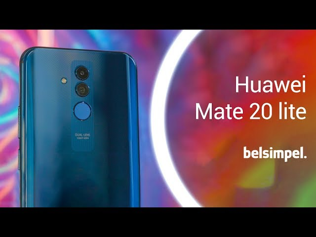 Belsimpel-productvideo voor de Huawei Mate 20 Lite Single Sim Blue