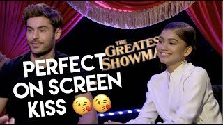 Zac Efron & Zendaya: How to do a perfect on-screen kiss, their fears, GREATEST SHOWMAN