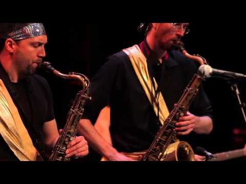 Jerseyband: Rise of the Meat Curtain - Jazz at the Atlas, DC - 2013 online metal music video by JERSEYBAND