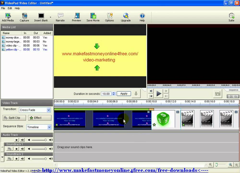 How to Use VideoPad Video Editor Editing Videopad Software ...