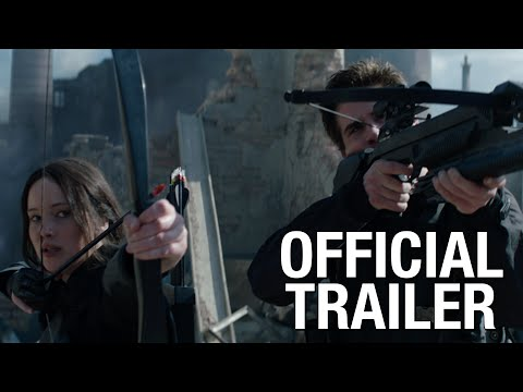 Mocking Jay Trailer, Official trailer for Mocking Jay Part 1 has been released! Katniss leads the revolution and fights to save Peetah, the movie will hit theaters November 21st.