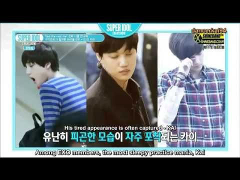 [Eng Sub HD] 140718 EXO Kai - Self-Managed Idol - Super Idol Chart Show