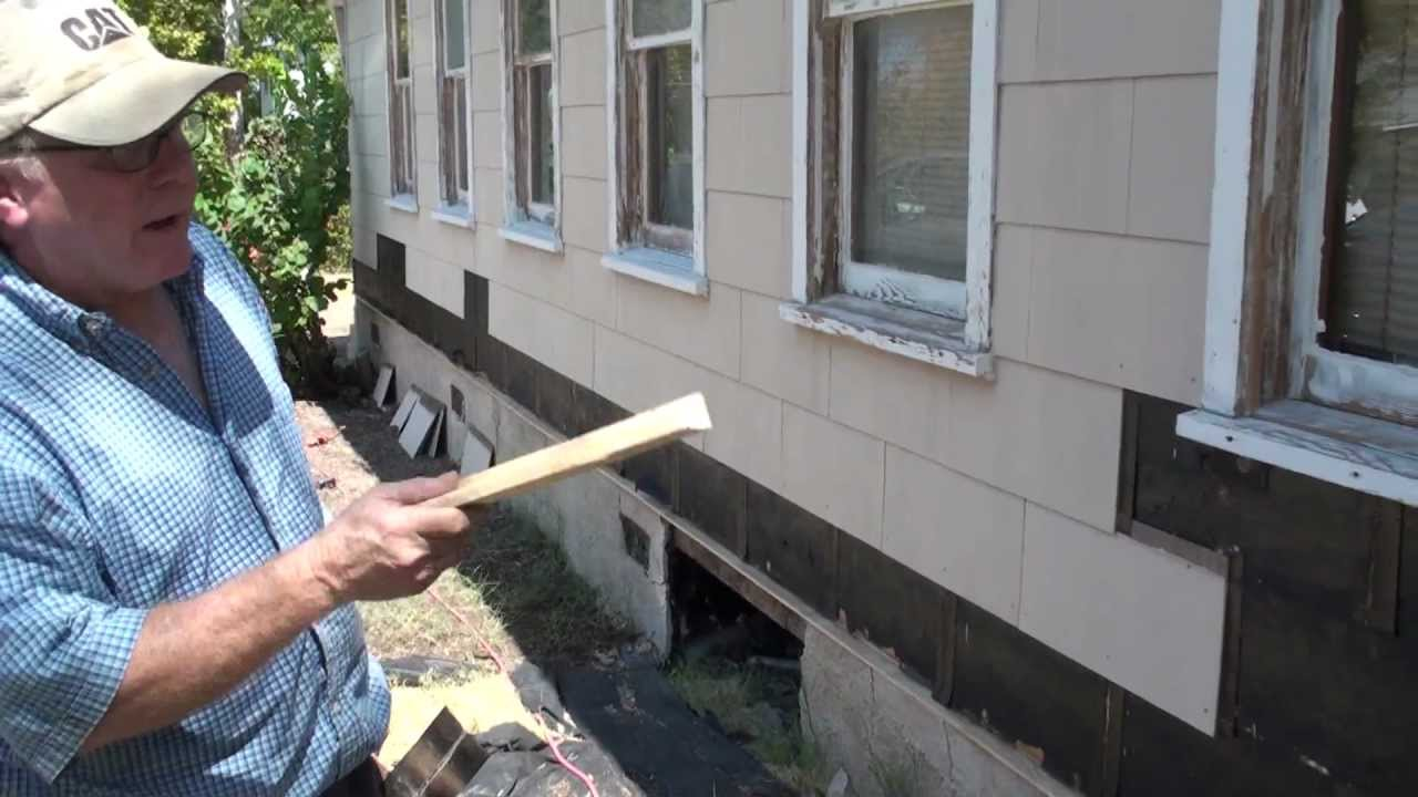 Remove Asbestos Siding Secrets And Water Table With