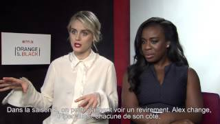 Orange Is The New Black : interview de Taylor Schilling (Piper) et Uzo Aduba (Crazy Eyes)