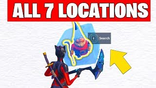 FORTNITE SEARCH CHILLY GNOMES - Season 7 week 6 Challenges Guide