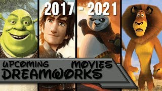 Upcoming Dreamworks Movies 2017-2021