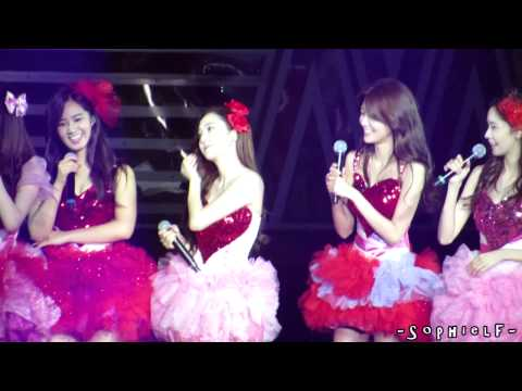 [Fancam] 131109 SNSD Funny Dance on Gee @ GG World Tour in Hong Kong