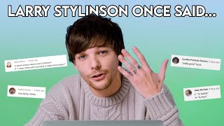 Larry Stylinson once said....