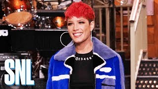 Halsey Serves as Host, Musical Guest & More for SNL