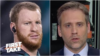 Carson Wentz's career with the Eagles was a 'bust' - Max Kellerman | First Take