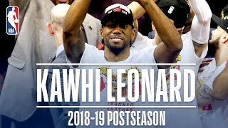 Best Plays From Kawhi Leonard | 2019 NBA Postseason