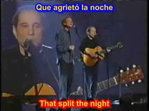 The sounds of silence - Simon & Garfunkel ( SUB ESPAÑOL INGLES )