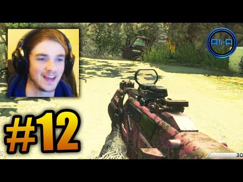 """DUO PINK GUNS!"" - COD Ghosts LIVE W/ Ali-A #12! - Smashpipe Games"