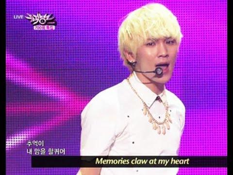 SHINee - Replay (2013.06.01) [Music Bank w/ Eng Lyrics]