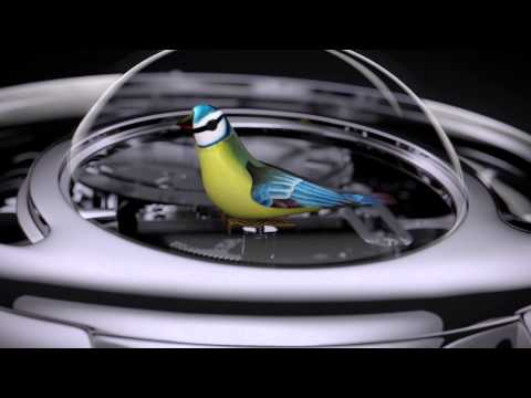 Jaquet Droz The Charming Bird Automaton Watch Official Video