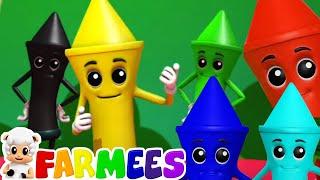 Lápices colores canción   Rimas para niños   Musica   Farmees Vietnam   Videos educativos