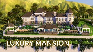 The Sims 4 | House Building (Stop Motion) | Luxury Mansion (for Celebrity)