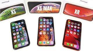 iPhone XS vs iPhone XS Max vs iPhone XR?