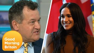 """Meghan Markle """"Had No Idea What She Was Getting Into"""" Says Paul Burrell 