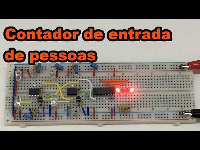 CONTADOR DE ENTRADA DE PESSOAS | Conheça Eletrônica! #123